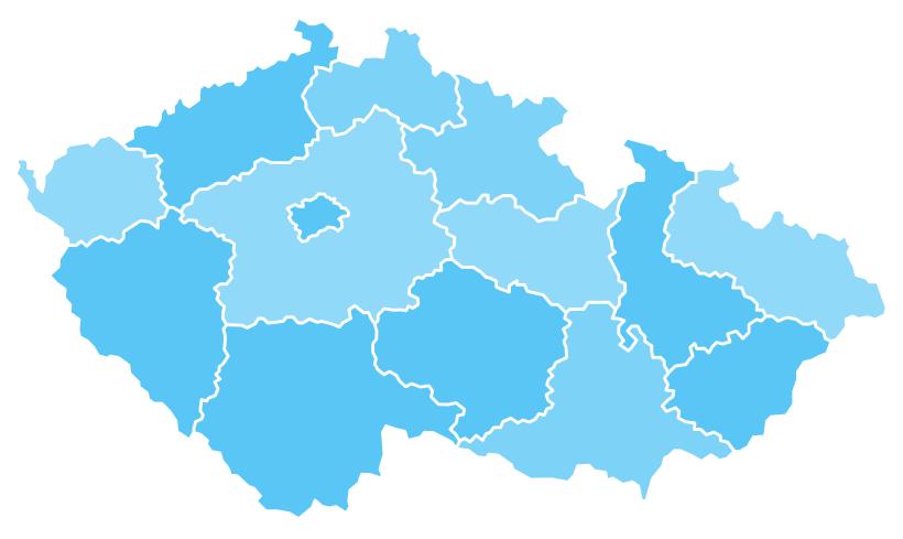 mapa směnáren po České republice