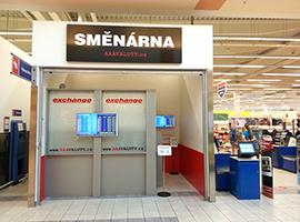 Otevřeli jsme novou směnárnu v obchodním centru Fontána Karlovy Vary