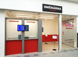 Otevřeli jsme pro Vás novou směnárnu v hypermarketu Albert Mladá Boleslav.