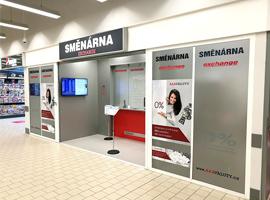 Otevřeli jsme pro Vás novou směnárnu v Kauflandu Znojmo.