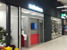 Nově otevřená směnárna v OC Kaufland Brno Bohunice.