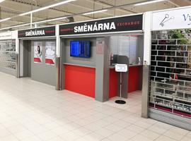 Otevřeli jsme pro Vás novou směnárnu v Hypermarketu Tesco Český Krumlov.
