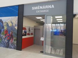 Otevřeli jsme pro Vás novou směnárnu v Nákupním centru Ostrava Géčko.