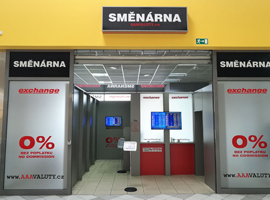Otevřeli jsme pro Vás novou směnárnu v hypermarketu Albert Tábor.