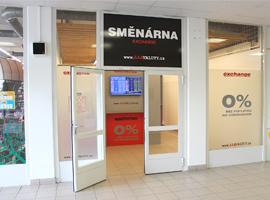 Otevřeli jsme pro Vás novou směnárnu v OC Convent ve Žďáru nad Sázavou.