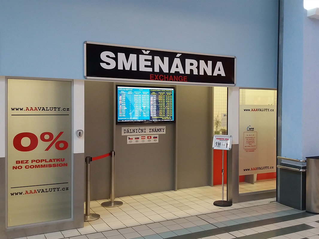 Směnárna Plzeň TESCO